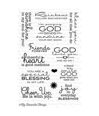 LJD Cheerful Blessings - Stamp