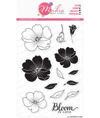 Linen Blooms - Stamp