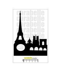 Stencil - France, Paris, Tour Eiffel