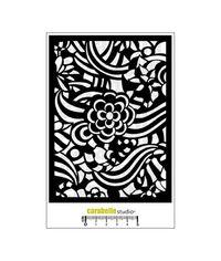 Stencil - Zentangle florale