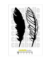 Stencil - 2 plumes