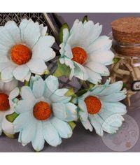 Light Blue - Mulberry Daisy Flower