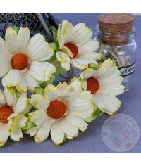 Lemon Yellow - Mulberry Daisy Flower