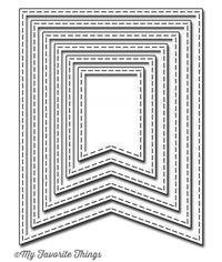 Stitched Jumbo Fishtail Banner STAX - Die