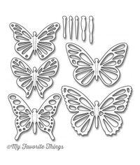 Flutter of Butterflies - Lace - Die