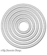 Radial Stitched Circle STAX - Die