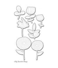 Sketchy Flowers - Die