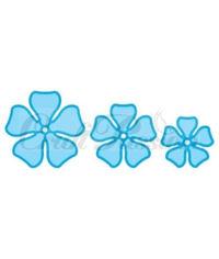 Set of flower cutters No. 2 - Die