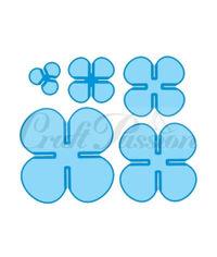 Set of blades Flowers No.4 - Die