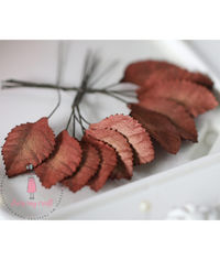 Rose Leaf - Vintage Brown