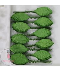 Small Rose Leaves - Green