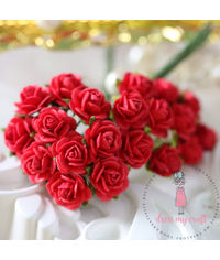 Micro Mini Roses - Red