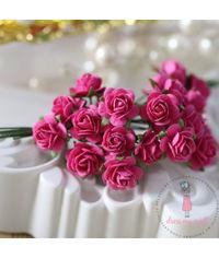 Micro Mini Roses - Bright Pink