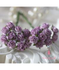 Micro Mini Roses - Mauve
