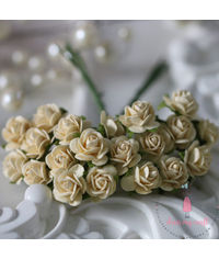 Micro Mini Roses - Cream Yellow