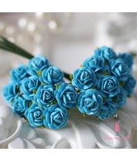 Micro Mini Roses - Blue