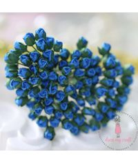 Micro Mini Rose Buds - Blue