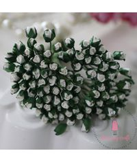 Micro Mini Rose Buds - Ivory