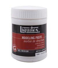 Liquitex Modeling Paste Acrylic Gel Medium - 8 Ounces