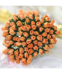 Micro Rose Bud - Orange