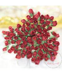 Micro Rose Buds - Red