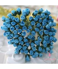 Micro Rose Buds - Blue