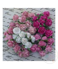 Pink Micro Roses Combo