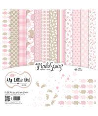 "My Little Girl - 12""X12"" Paper Pad"
