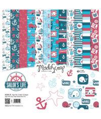 """Sailors Life - 12""""X12"""" Paper Pad"""