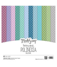 """Thinking About - Polinesia - 12""""X12"""" Paper Pad"""