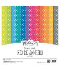 "Thinking About - Rio De Janeiro - 12""x12"" Paper Pad"