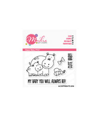 Hippo Baby - Stamp