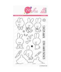 Playful Bunnies - Stamp