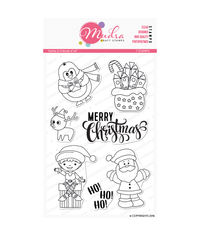 Santa & Friends - Stamp