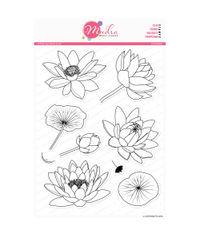 Lotus Blooms - Stamp