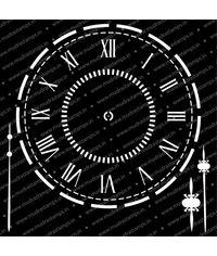 Clock - Stencil