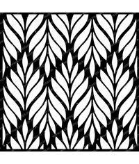 Leafy Pattern - Stencil