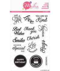 Mixed Greetings - Stamps