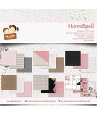 """LoveSpell 12""""X12"""", 36/pkg"""