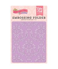 Once Upon A Time, Enchanted Damask - Embossing Folder