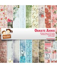 "Ornate Annie Paper Pack 6""X6"", 36/Pkg"