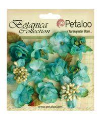 "Teal - Botanica Minis 1"" 11/Pkg"