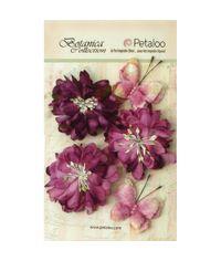 "Lavender/Purple - Botanica Mums & Butterflies 2"" - 2.5"" 5/Pkg"