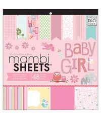 Baby Girl Animals - Paper