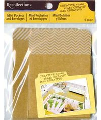 CC small CRAFT POCKET AND ENVELOPES