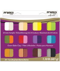 Premo Sculpey Accents Polymer Clay Multipack - Assorted Colors
