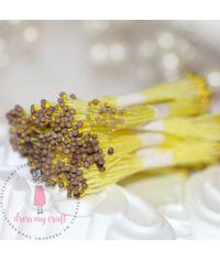 Round Thread Pollen - Two Tone Brown