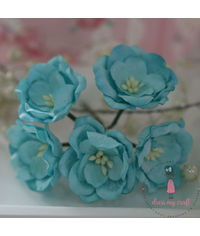 Poppy Rose - Blue