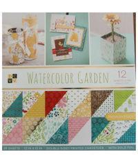 "Watercolor Garden - 12""X12"" Paper Pad"
