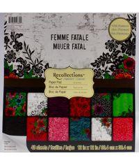 FEMME FATALE 2 12x12 Paper Pad